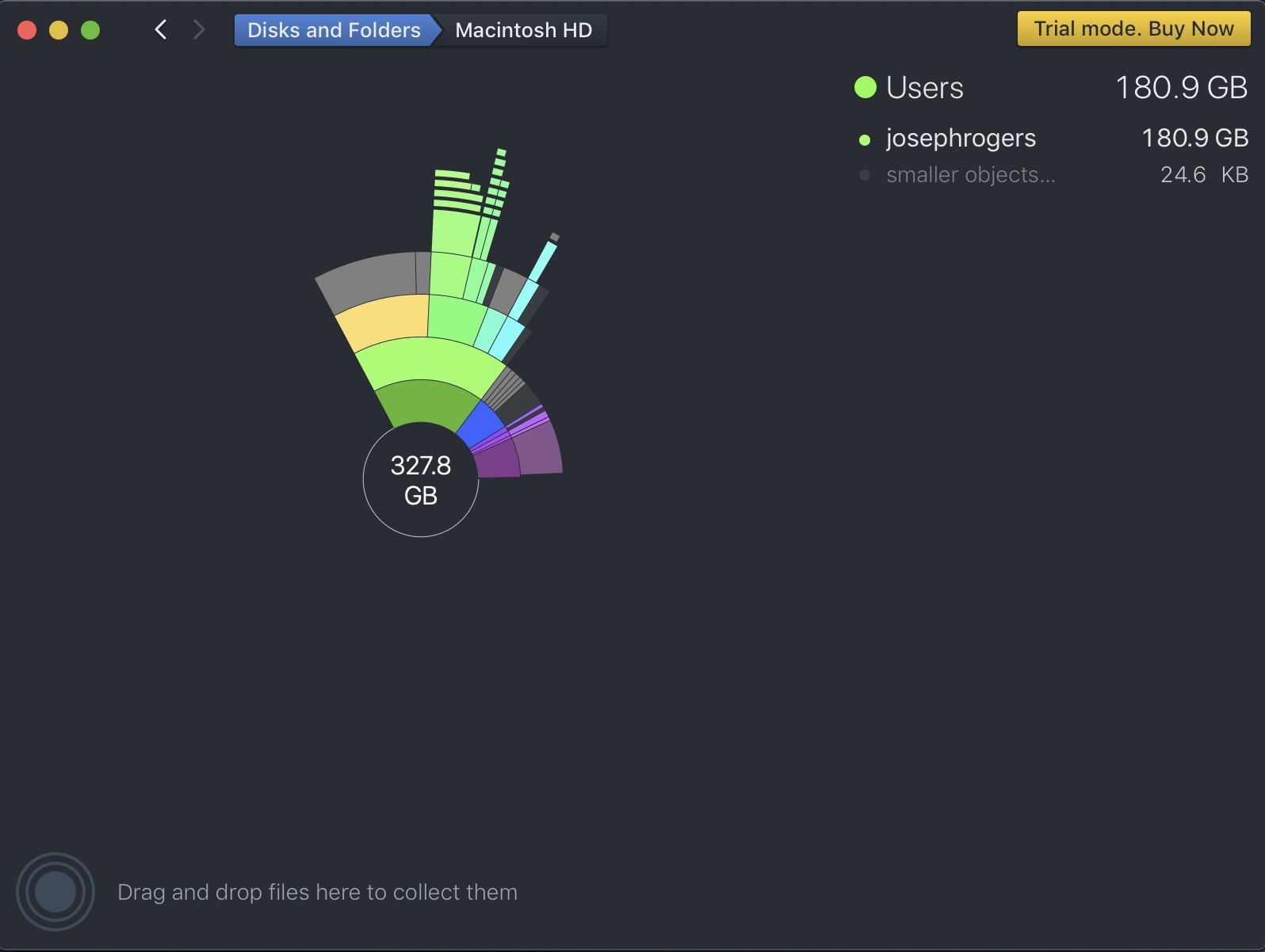 Daisydisk Results Page