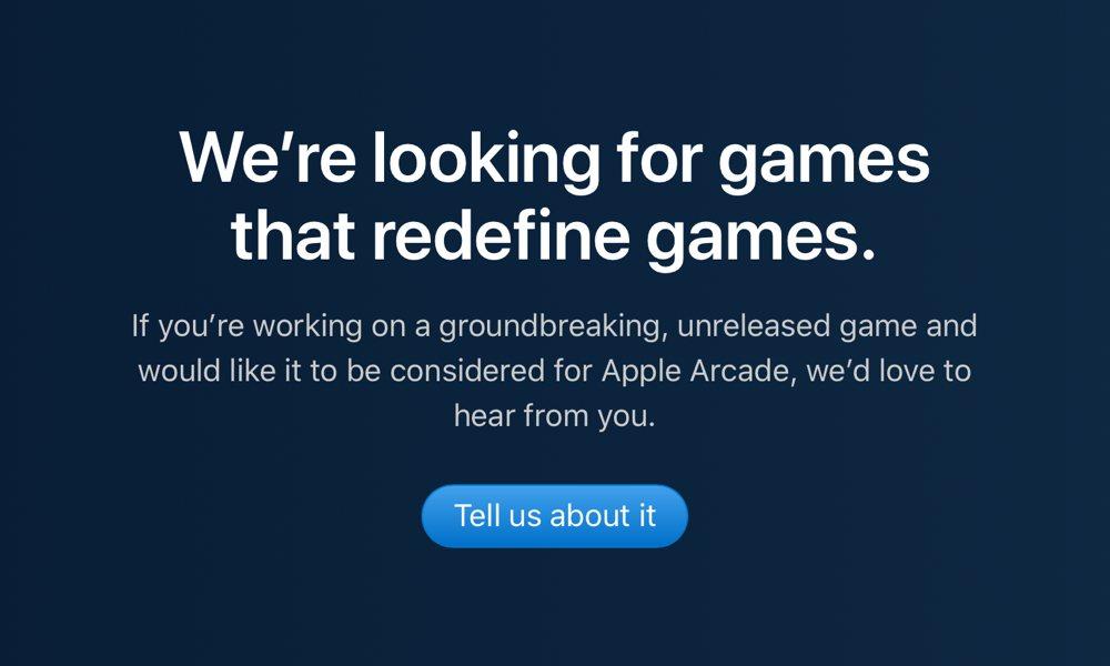 Apple Arcade Developer Invite
