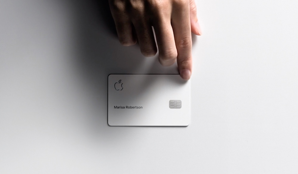 Apple Card Hand