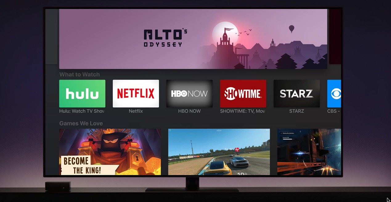 Apple Tv Apps Colorful