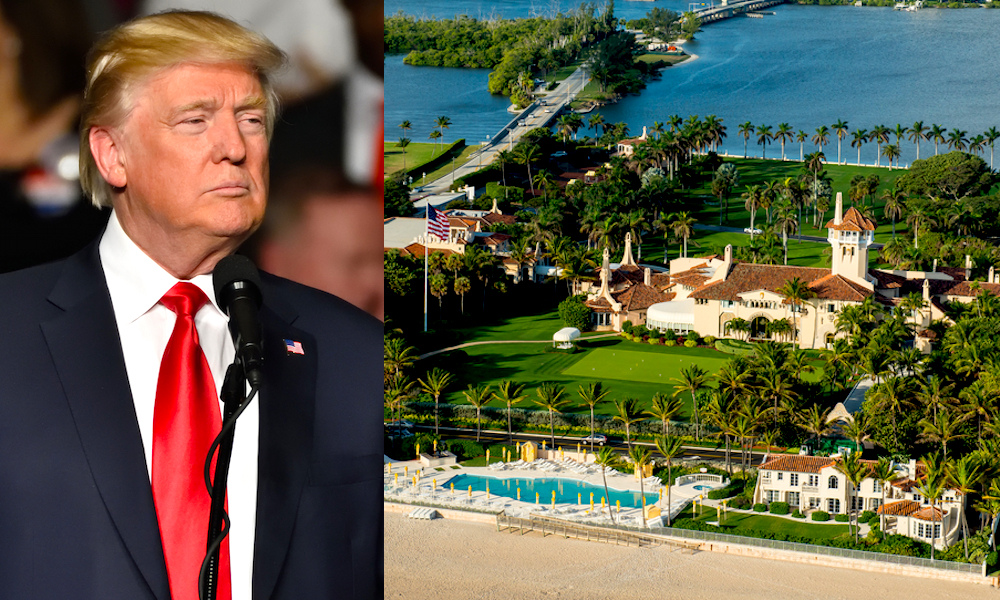 Donald Trump Mar A Lago