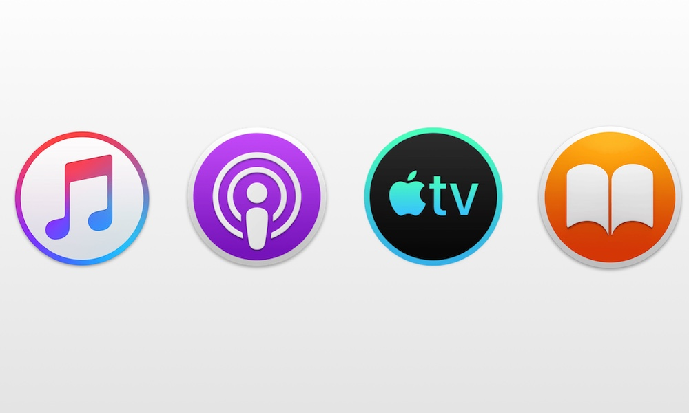 Music Podcasts Tv Books Mac 1