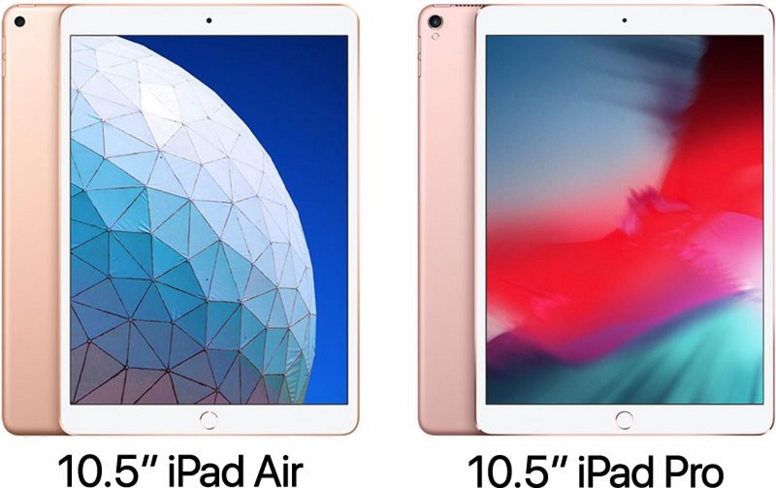 10 5 Inch Ipad Air Vs Pro 800x503