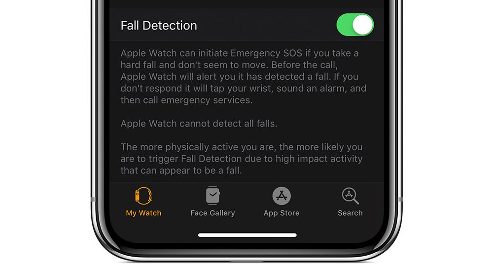 Enabling Fall Detection