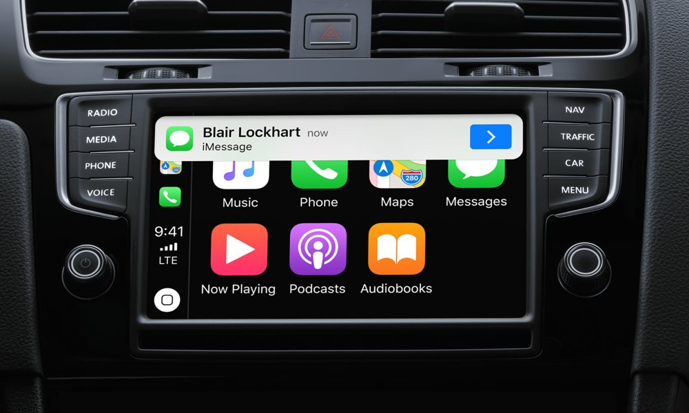 Carplay Notifications