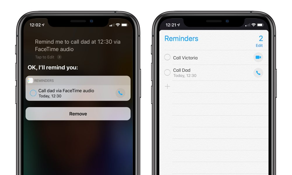 Iphone Setting Call Reminders