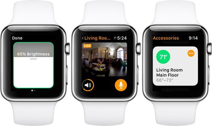 Home App Apple Watch