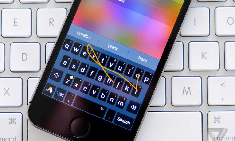Iphone Swype Swip To Tex Rumored For Ios 13