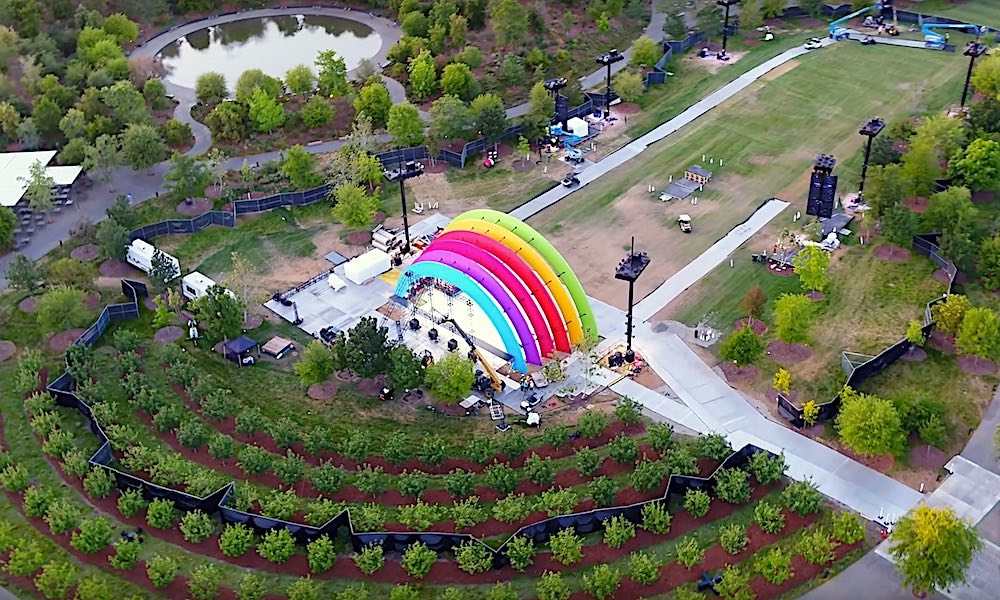 Apple Park Rainbow Stage