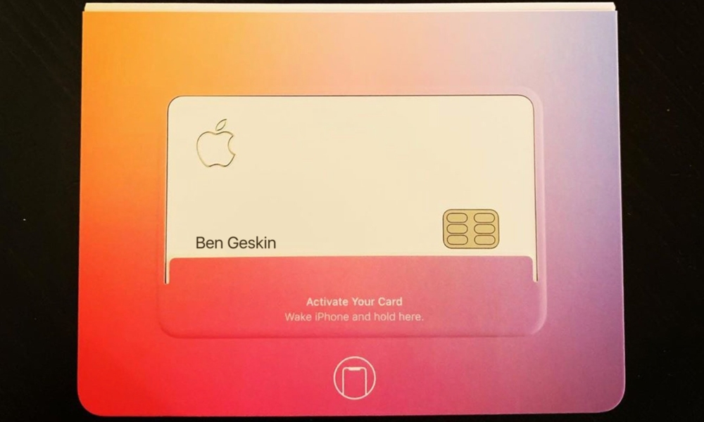 Apple Card Ben Geskin