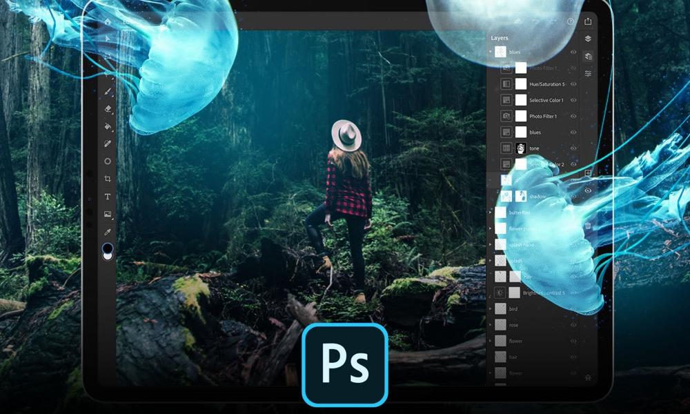 Adobe Photoshop for iPad Beta Promo