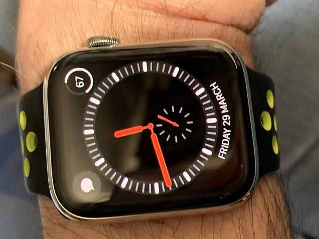 Explorer Face Apple Watch Missing Numbers