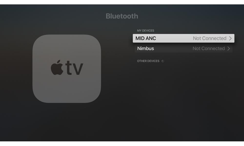 Apple Tv Bluetooth Settings
