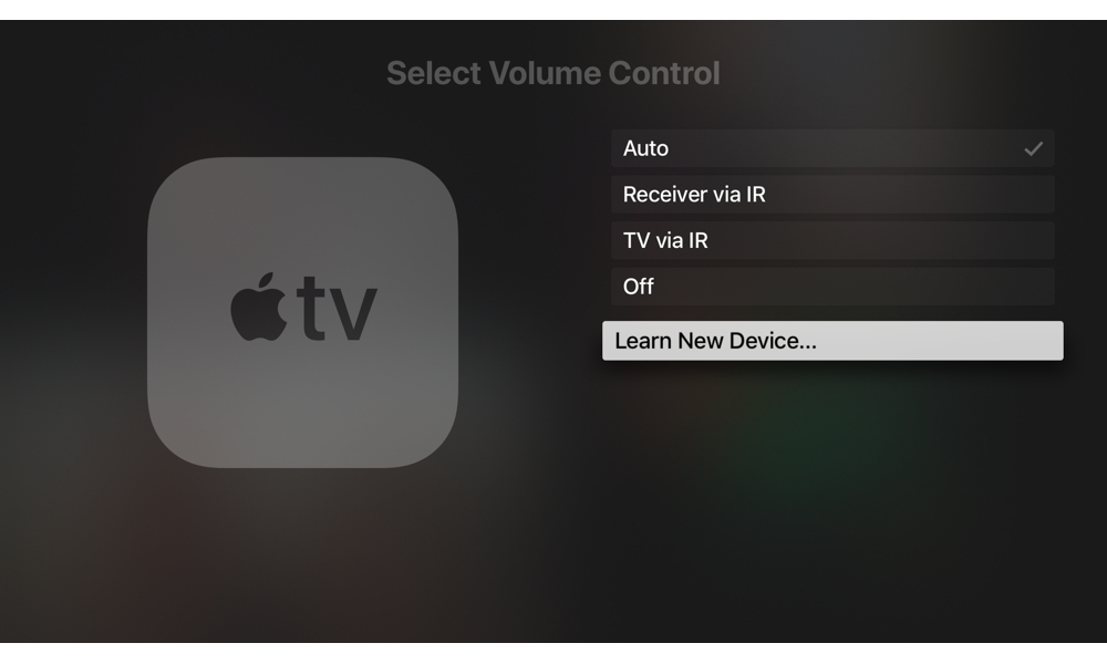 Apple Tv Learn New Device For Siri Remote