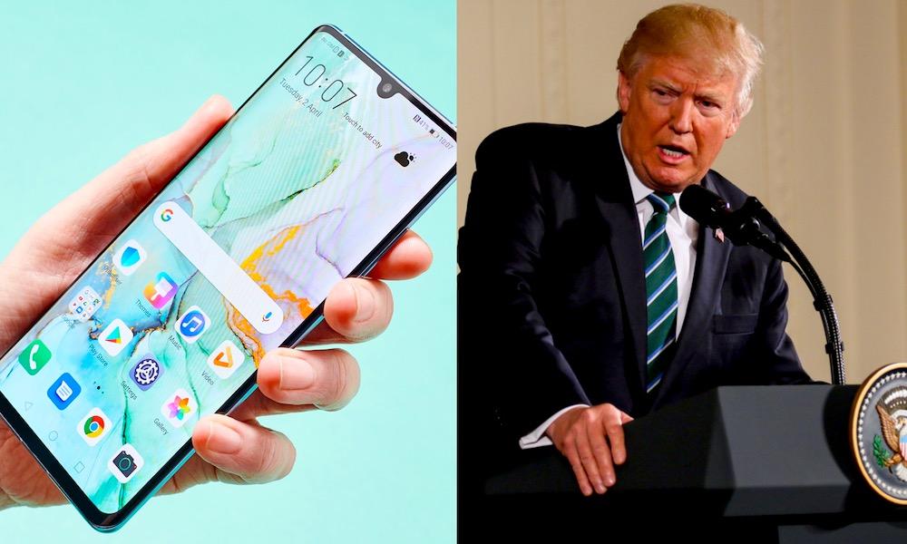 Donald Trump Huawei Qualcomm