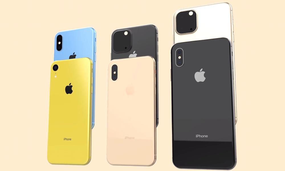 2019 Iphones Iphone Xi Concept