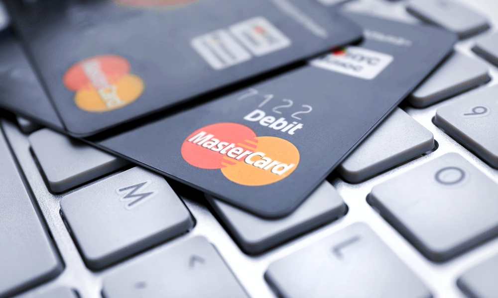 MasterCard on Mac keyboard
