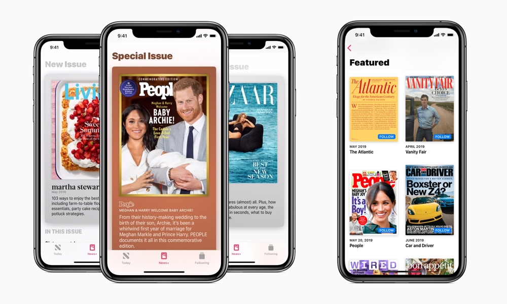 Apple News Plus With Follow Buttons In Ios 12.3