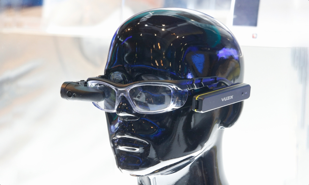 Vuzix Glasses On Display