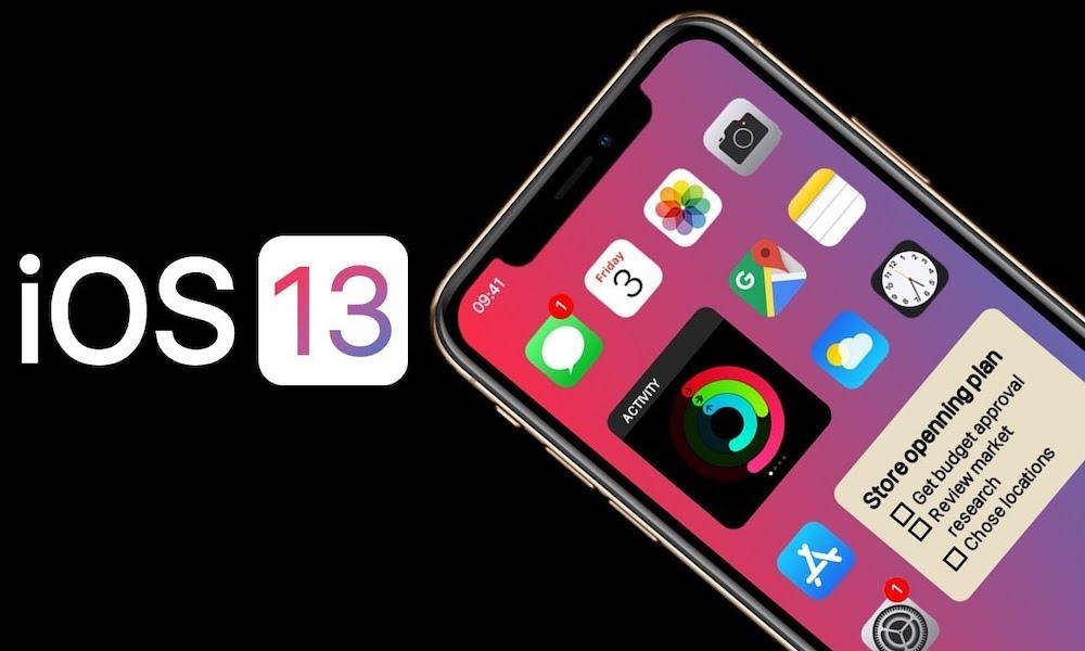 Ios 13 Concept