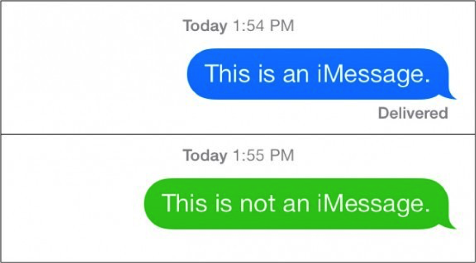 Imessage Not Imessage