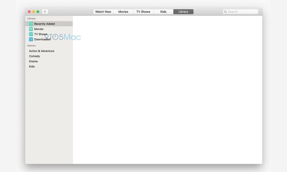 MacosmacOS TV App (via 9to5mac) Tv App Via 9to5mac