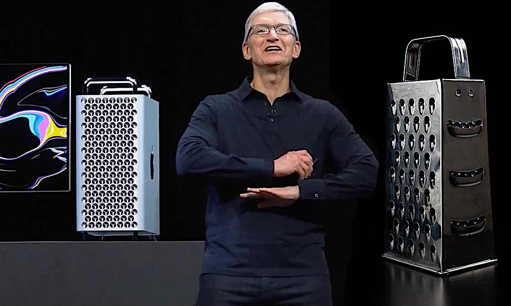 Tim Cook Cheese Grater
