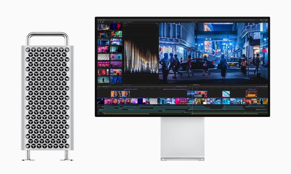 Apple Mac Pro New Display Final Cut Screen 0603191