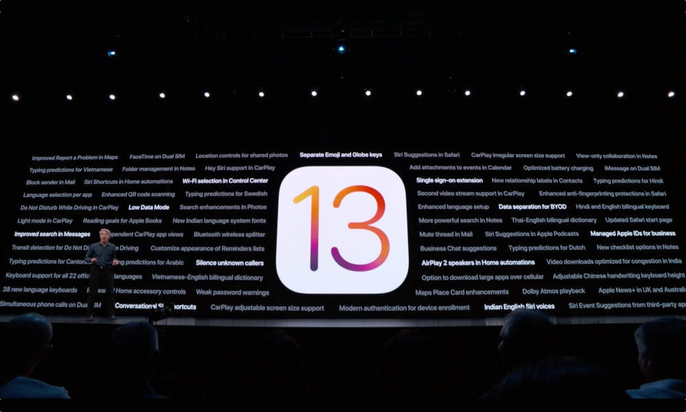 Ios 13 Other New Features