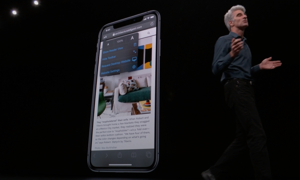 iOS 13 Safari On Stage