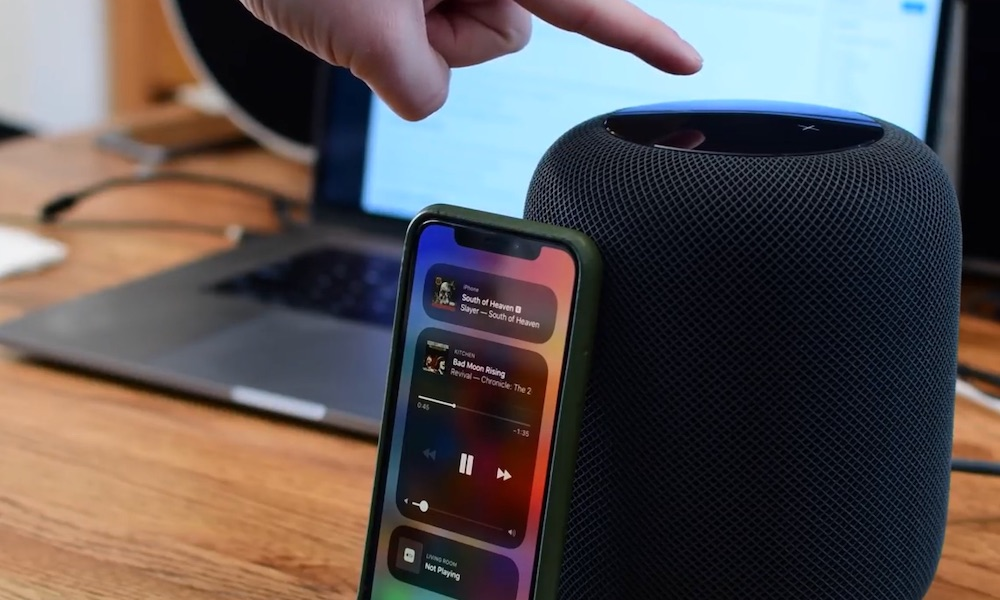 Homepod Iphone Control Center