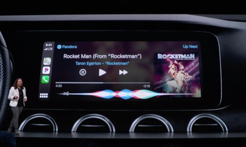 iOS 13 Carplay Siri Pandora