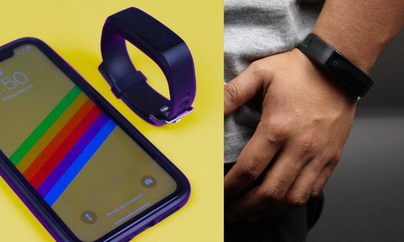 This $30 PureZen Fitness Tracker Monitors Your Heart Rate, Calories, Sleep (and Much More)