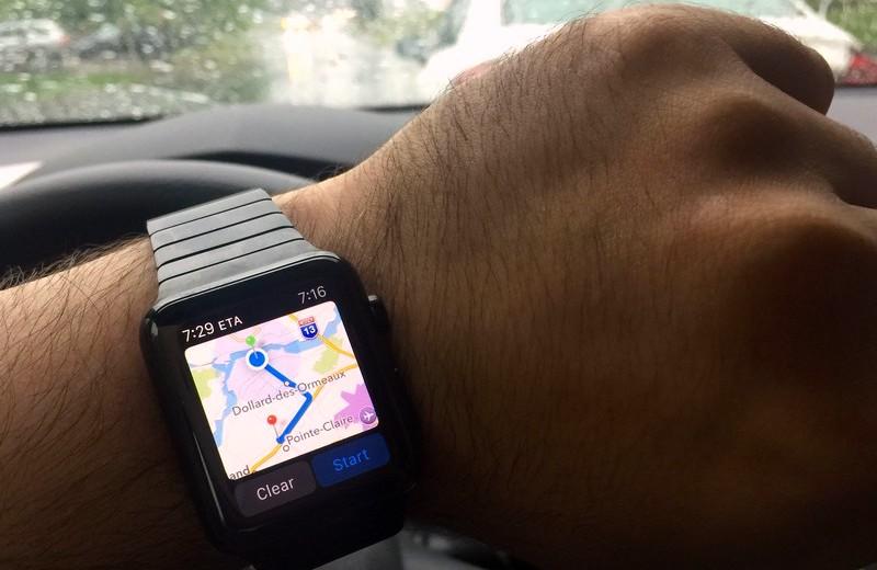 Apple Watch Driving Directions Hero