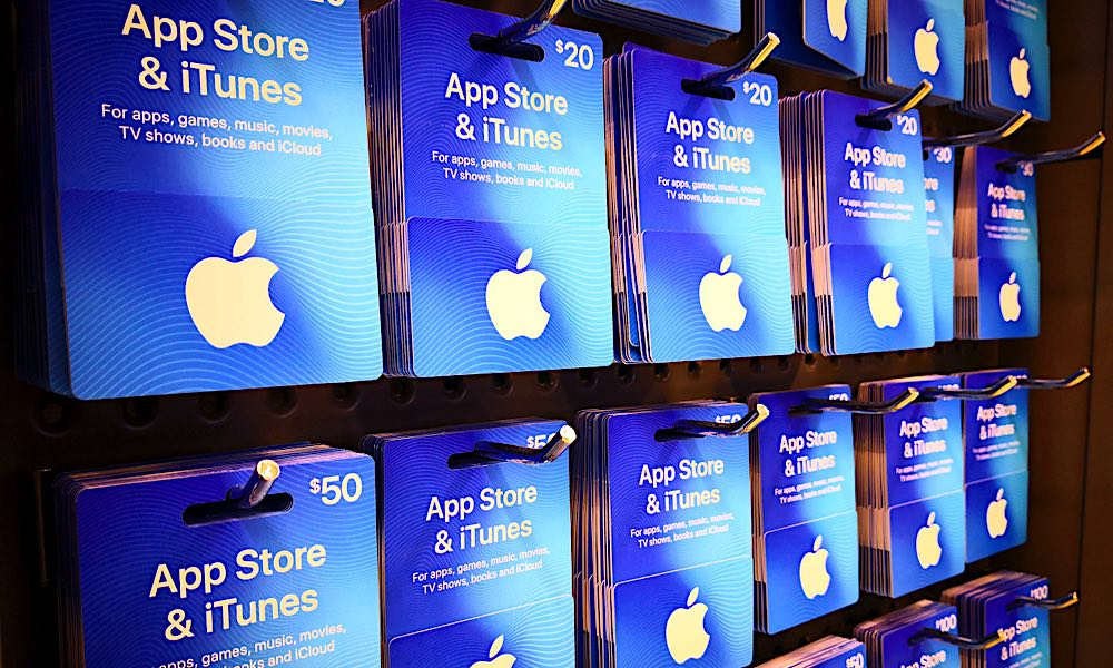 App Store And Itunes Giftcards