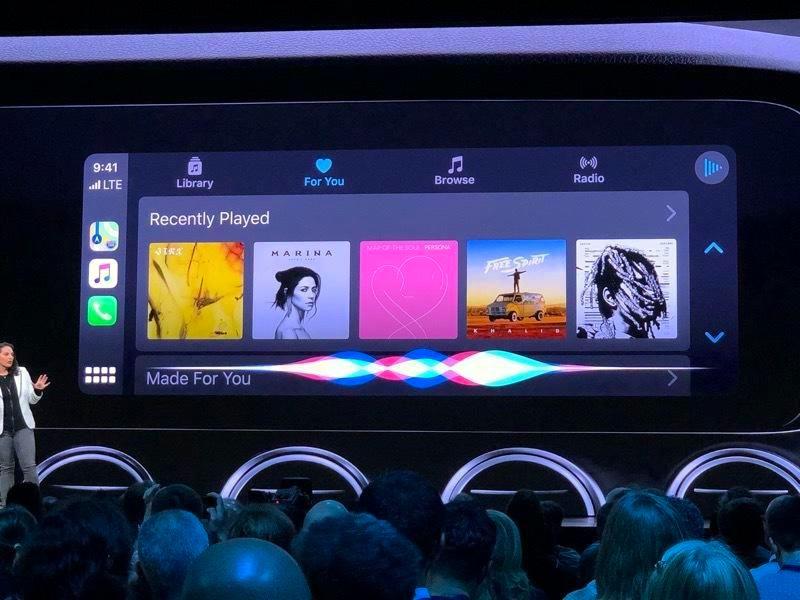 Apple Car Play Music Artwork