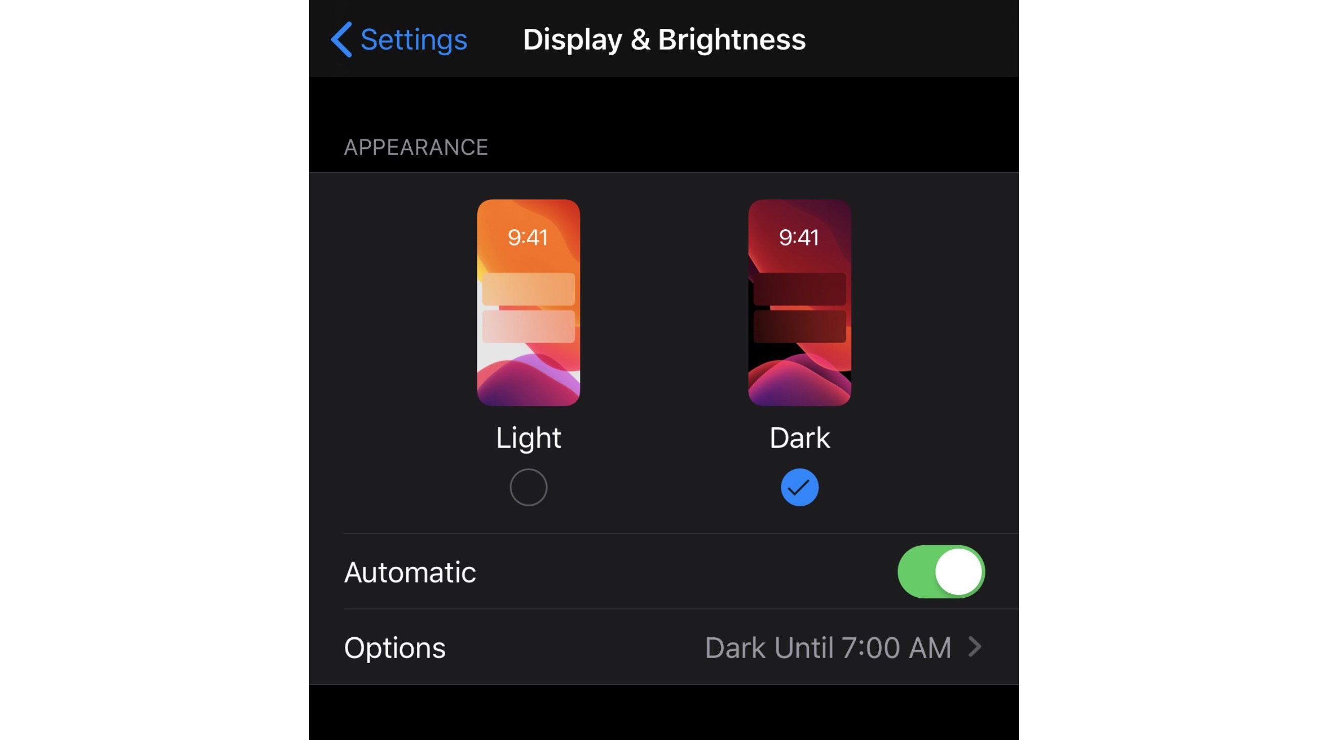 Display And Brightness
