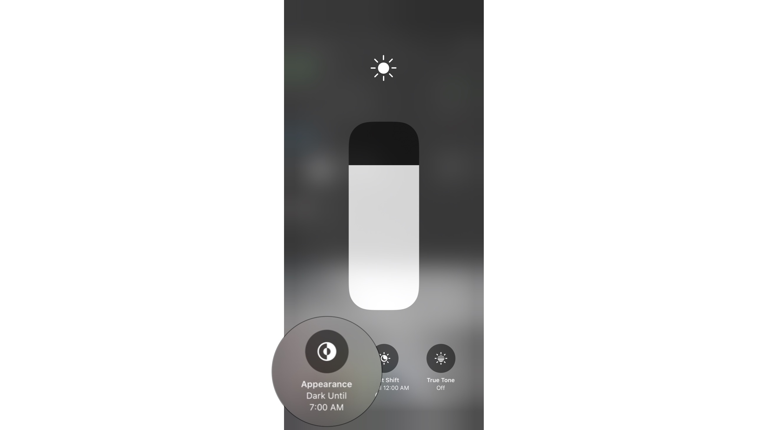 Dark Mode 3d Touch Slider1
