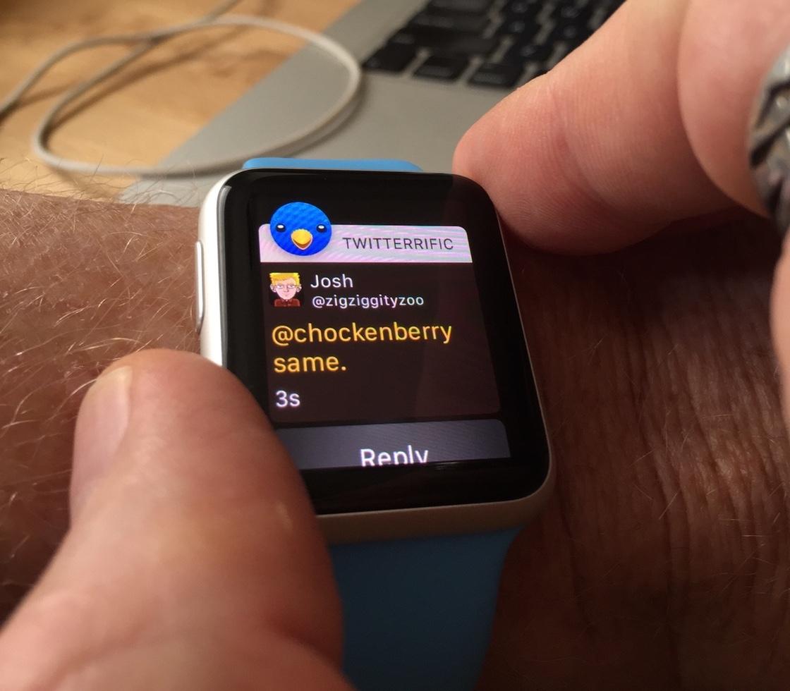 Apple Watch Wrist Orientation