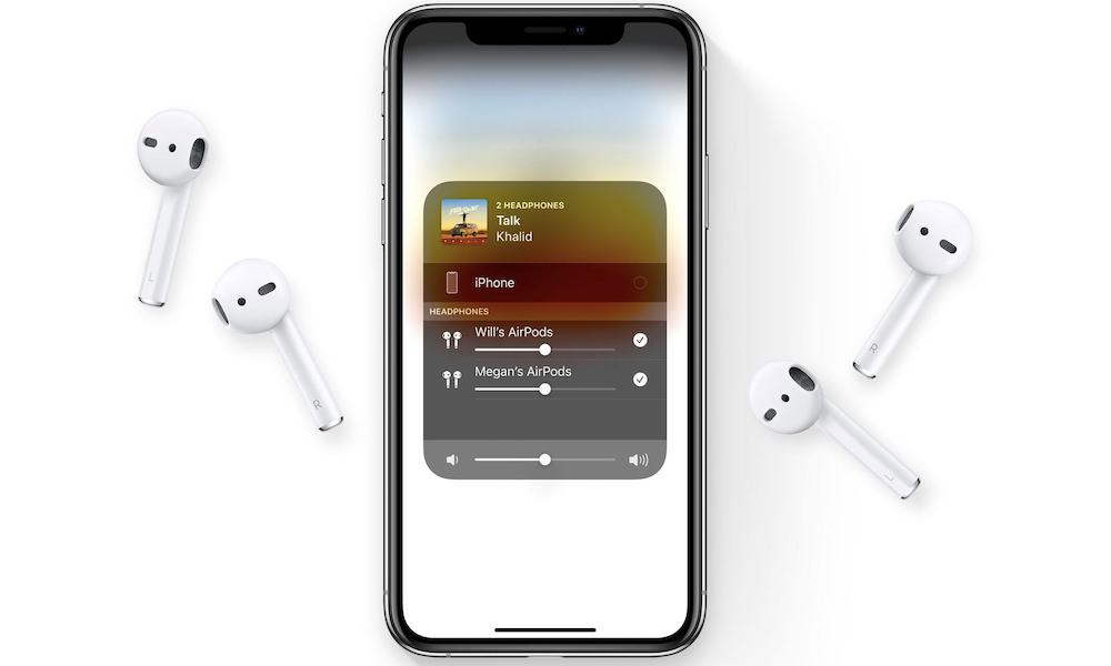 Here's How to Share Music Between Two Pairs of AirPods in iOS 13