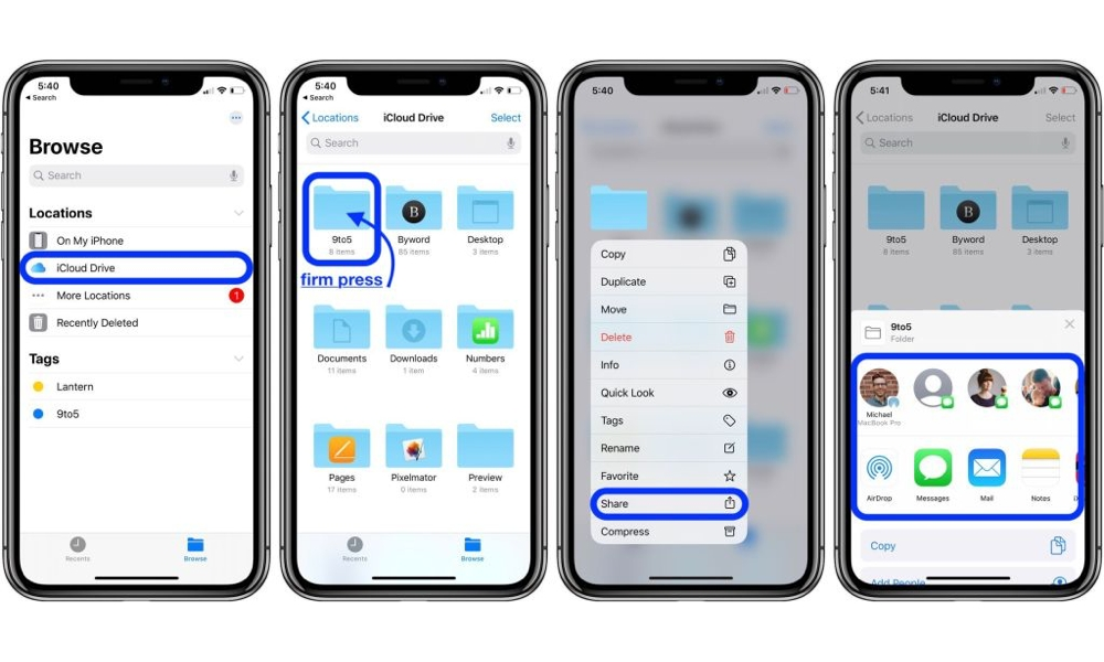 iCloud Drive Comes of Age with Folder Sharing in iOS 13