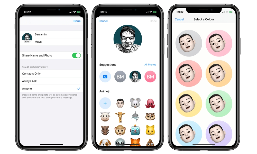 iOS 13 iMessage Profile