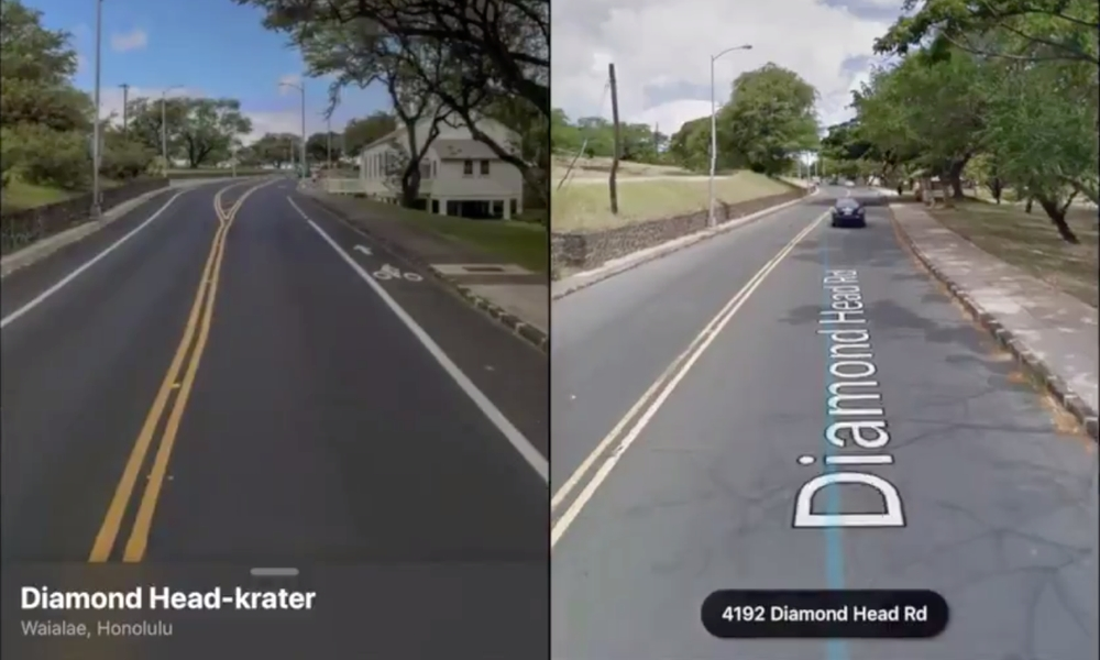 Check Out This Side-By-Side Comparison of Apple Maps Look Around vs. Google Street View