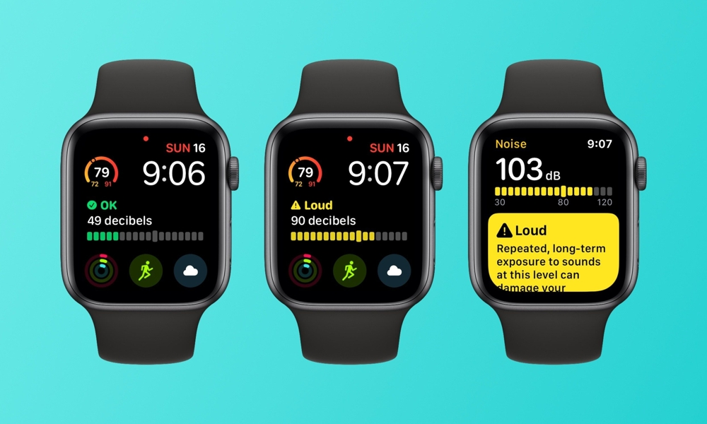 Apple watchOS 6 Beta Noise App