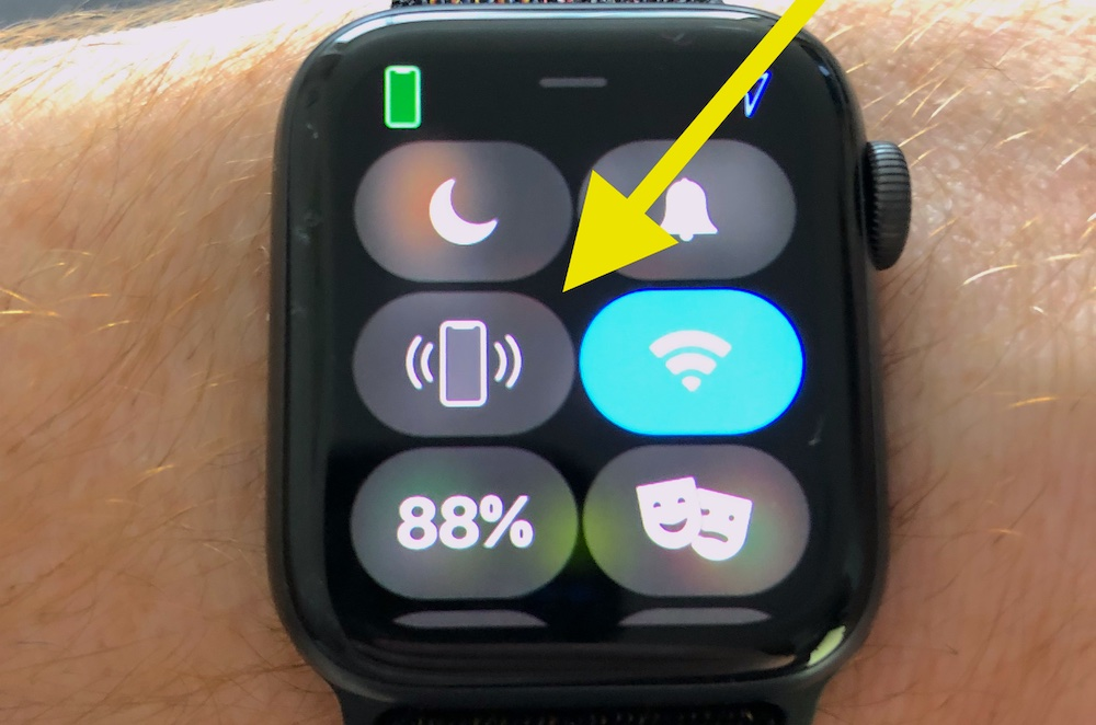 Ping Iphone From Apple Watch