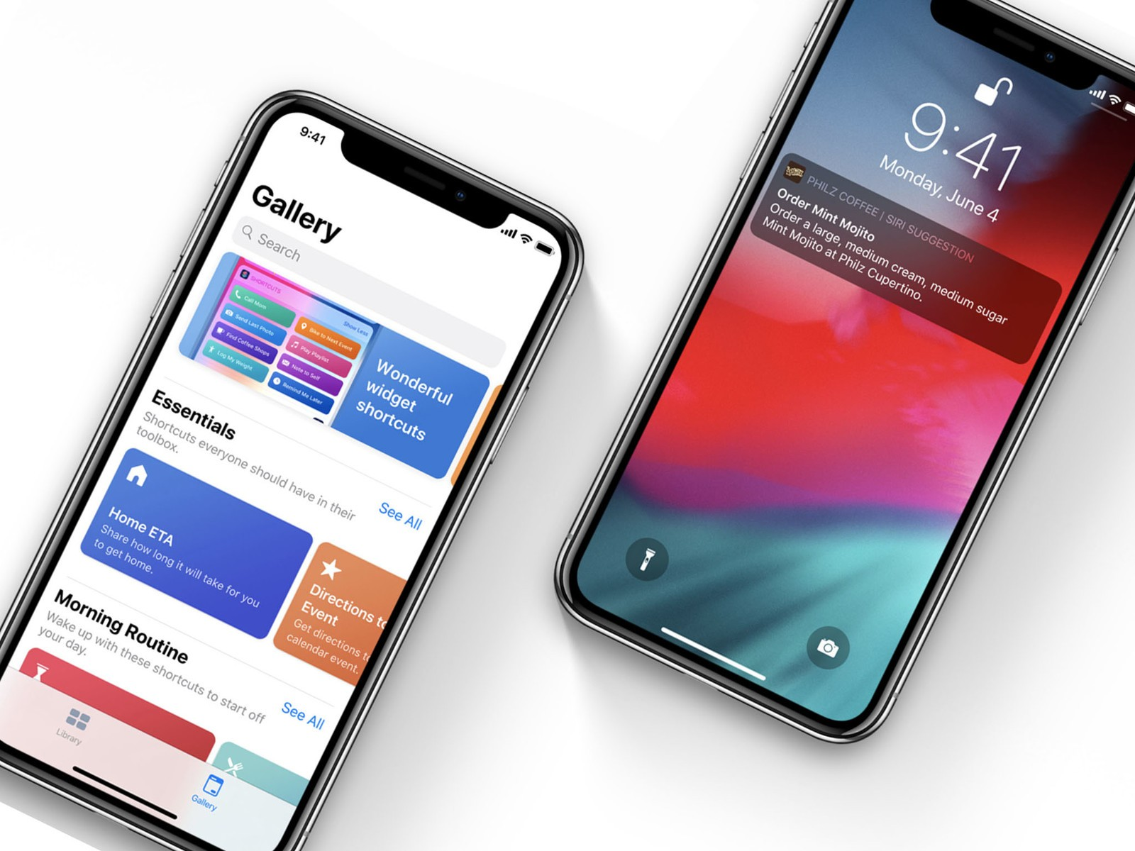 Apple Shortcuts App iPhone X