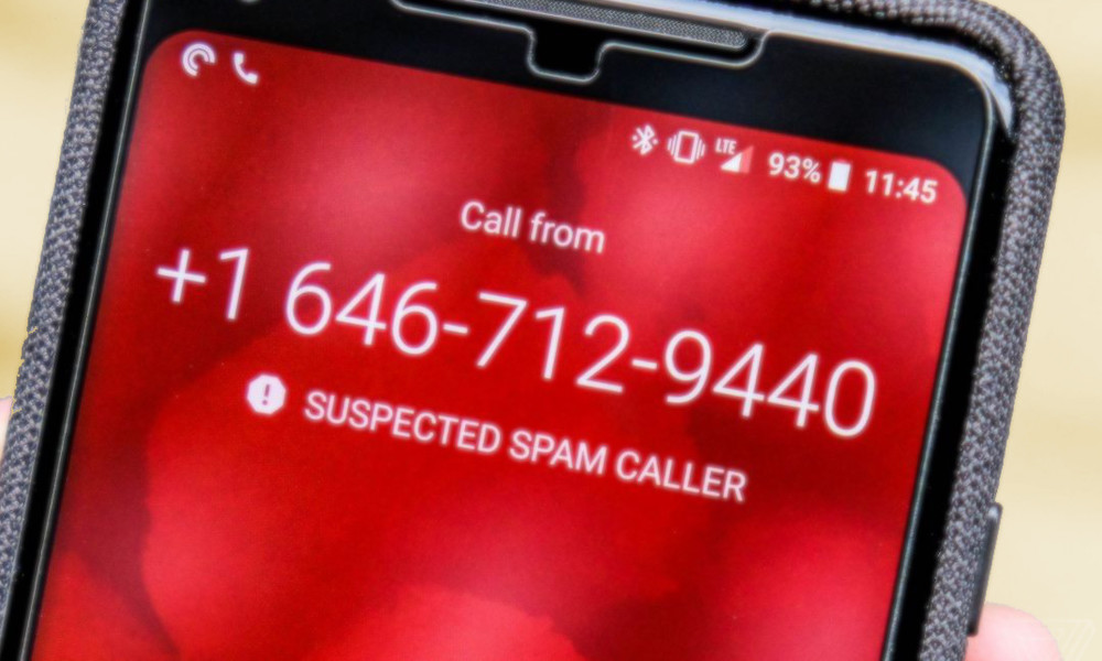Spam Caller Via The Verge
