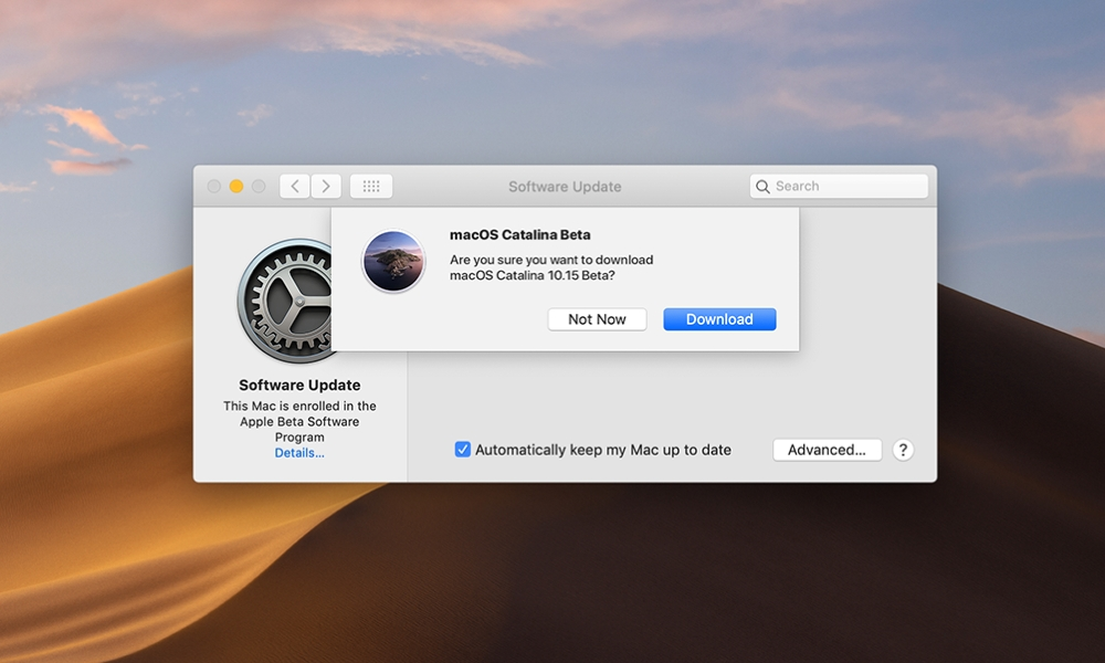 macOS Public Beta Updates