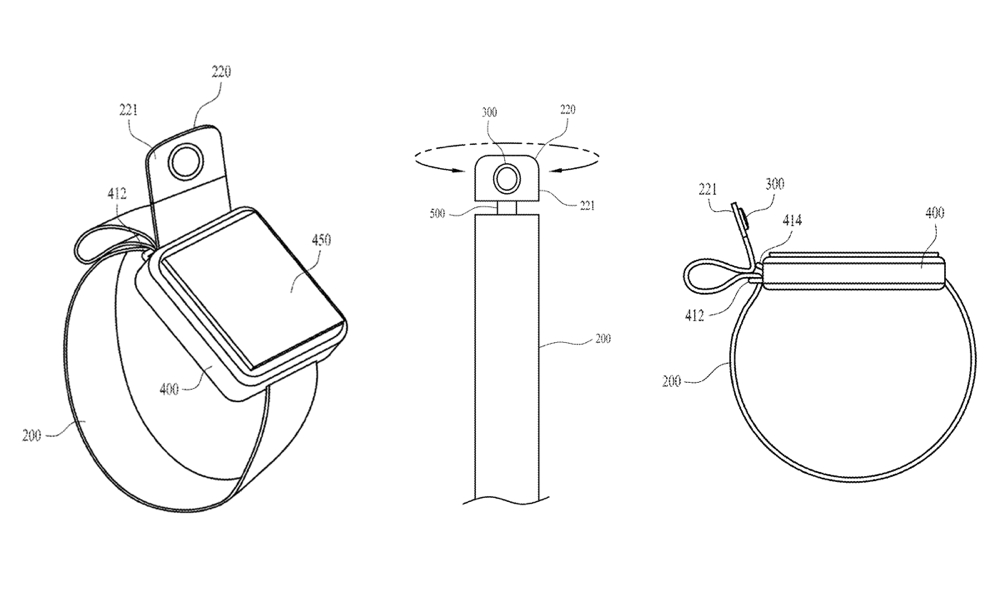 Patent for Apple Watch Band Camera