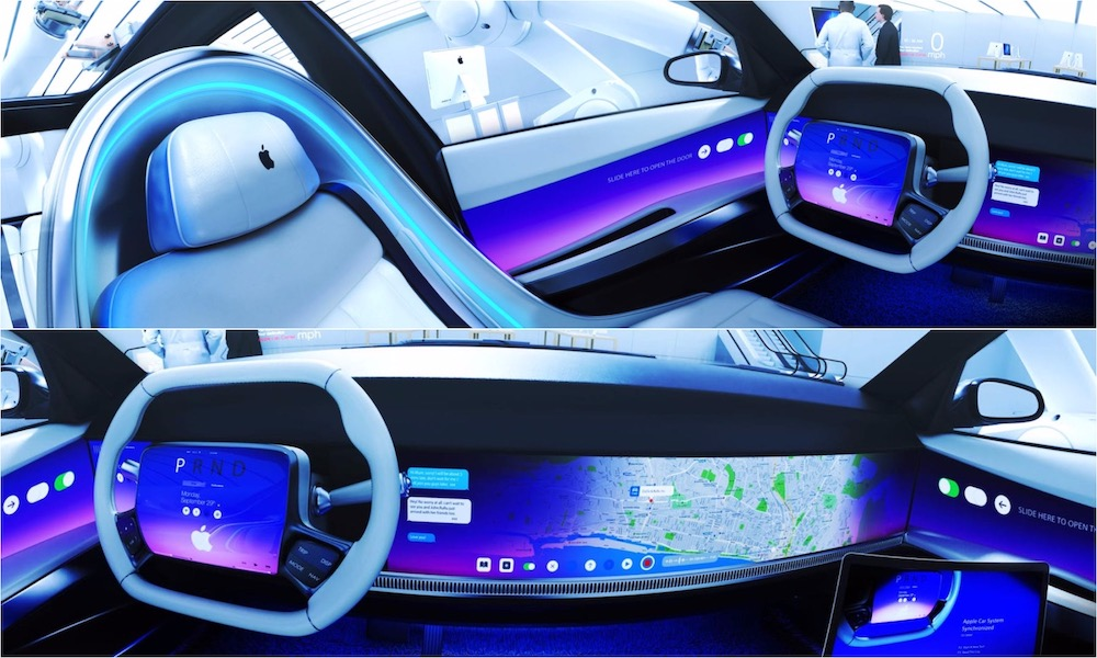 Apple Car Interior Concept